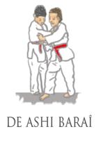 judo de ashi barai